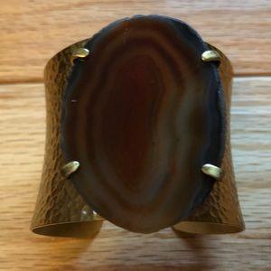Jewelry - Agate Stone bracelet cuff